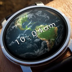 Earth 3D Watch Face Android