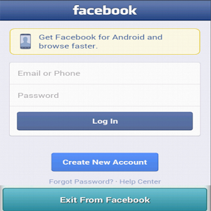 International faceBook Android