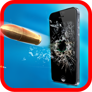 Gun Shooting-Broken Screen Android