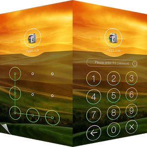 AppLock Theme Hill Android