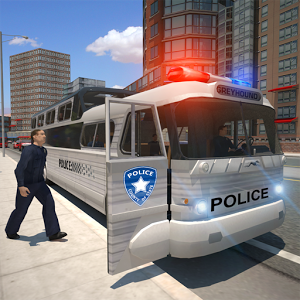 Police bus prison transport 3D Android
