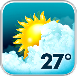 Animated Weather Widget&Clock; Android