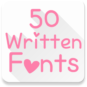 Fonts for FlipFont 50 Written Android