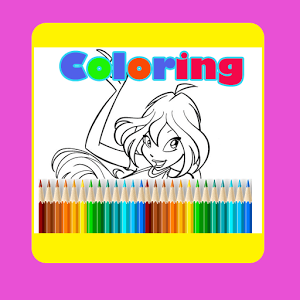 Girl Club Coloring Android
