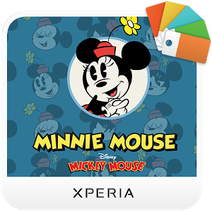 XPERIA™ Minnie Mouse Theme Android