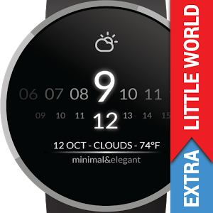 Watch Face - Minimal & Elegant Android