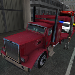 Car transporter 3D truck sim Android