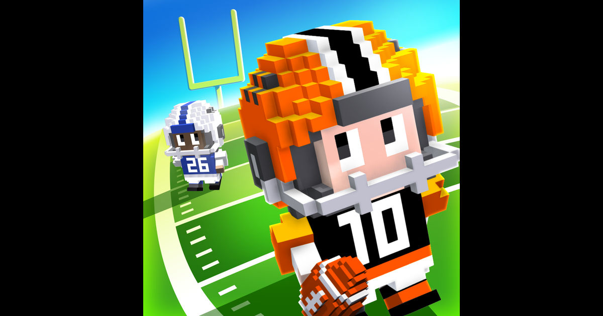 Blocky Football - Endless Arcade Runner Ios
