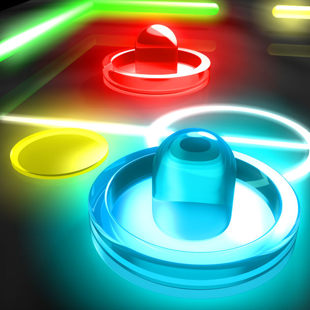 Glow Hockey 2 FREE Ios
