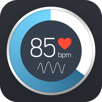 Instant Heart Rate - Heart Rate Monitor by Azumio featuring  Ios