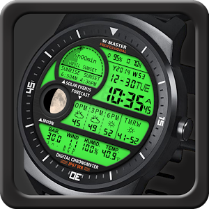 F04 WatchFace for LG G Watch R Android