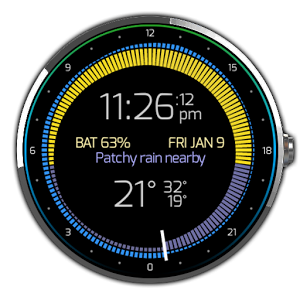 Krona Sunlight Watchface Android